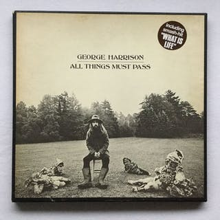 George Harrison - All things must pass triple album 1970- Box - 1970
