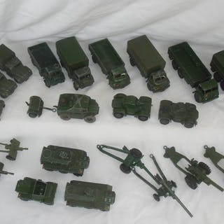 Dinky Toys - 1:48 - Collection of 22 British Army...