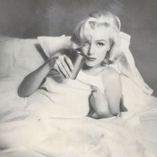 Milton Greene (1922-1985) - Marilyn Monroe, 'The bed sitting', Hollywood, 1953