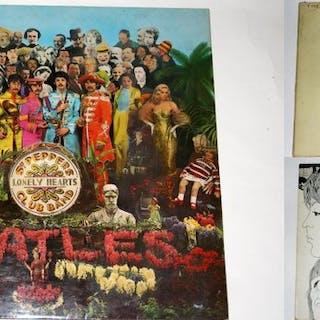 Beatles - x3 LP's Sgt Pepper 1st pressing -UK Revolver...