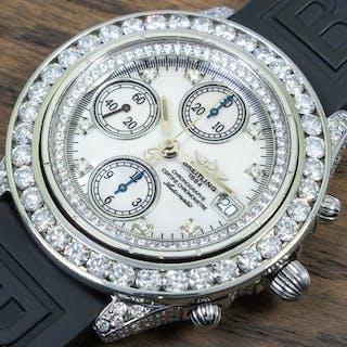 Breitling - Diamond Chronomat 6.93Ct - Ref. 81950/B13047 - Men - 2000-2010