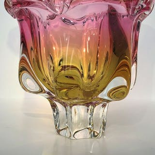 Jan Beranek - Skrdlovice - Art Glass Bowl - Glas