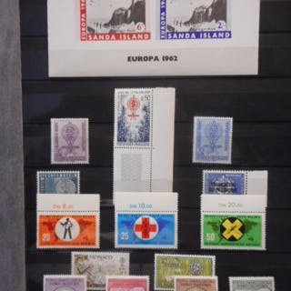 Album of commemoratives on white ace pages | Barnebys