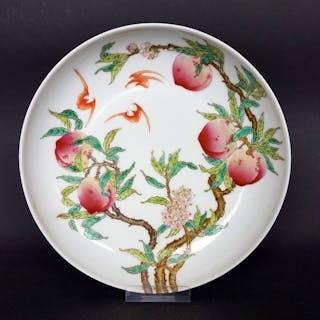 Piatto (1) - Porcellana - Chinesischer Teller mit acht...