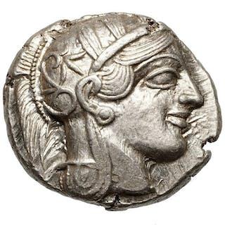 Greece (ancient) - AR Tetradrachme, Attica, ATHEN (454-404 BCE) Eule