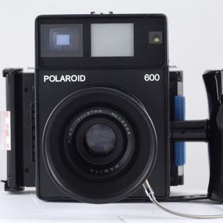 Polaroid 600 + Mamiya 127 mm f:4,7