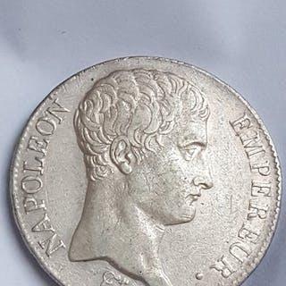 France - 5 Francs An 14-A Napoléon I - Silver
