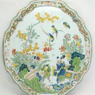 Porceleyne Fles - Royal Delft - Plaque from 1899 with...