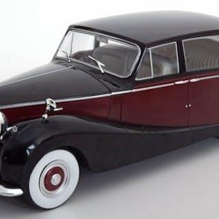 MCG - 1:18 - Rolls Royce Silver Wraith Empress By Hooper 1956 - Black / Yellow