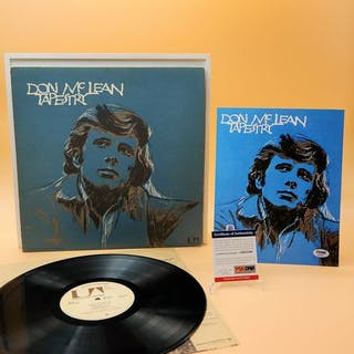 Don Mclean - one of the rarest signe and original US...