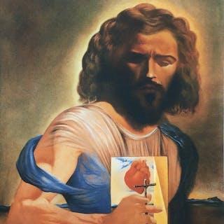 Salvador Dali- Le Sacré Cœur de Jesus