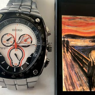 Seiko - Sportura Chronograph (THE SCREAM) - Men - 2000-2010