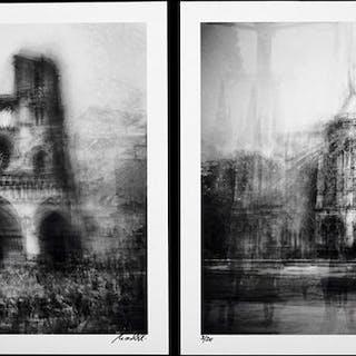 Frank Machalowski (1971-) - (2x) Notre-Dame, 2013