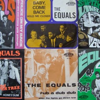"The Equals- 6 Original 7"" Singles II All Belgian..."