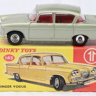 Dinky Toys - 1:43 - Singer Vogue nr 145 - Made in England