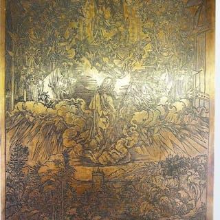 Albrecht Durer - Saint John in the clouds
