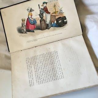 Grandville - Les métamorphoses du jour - 1854