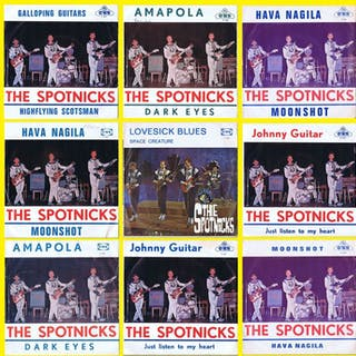 THE SPOTNICKS: Galloping Guitars