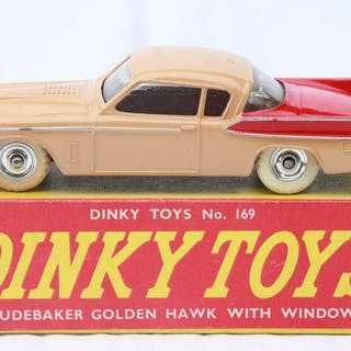 Dinky Toys - 1:43 - Studebaker Golden Hawk nr 169 - Made in England