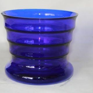 K P. C. de Bazel - Glasfabriek Leerdam - Vase (1) - Glas