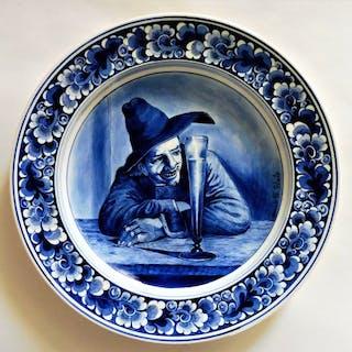 Zenith Gouda - Delfter Wandteller Trinker zu Frans Hals...