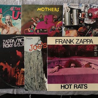 Frank Zappa - Diverse Künstler - Miscellaneous - LP's - 1971/2018