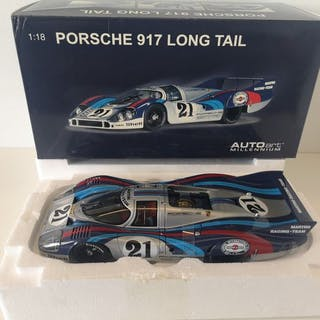 Autoart - 1:18 - Porsche 917L Long Tail Lemans Racing Car...