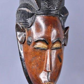 Mask - Wood - danse - Baoulé - Ivory Coast