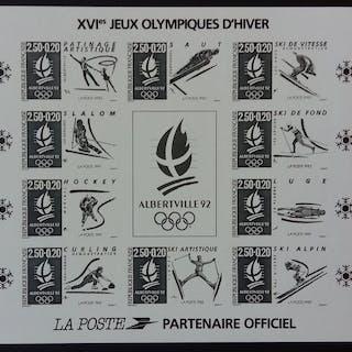 France 1992 - JO d'Alberville 92