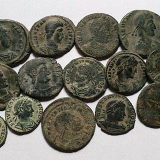 Römisches Reich - Lote de 20 monedas, acuñadas entre I s d.C. - IV s d.C.