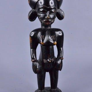 Statue - Wood - Senoufo / Senufo - Ivory Coast