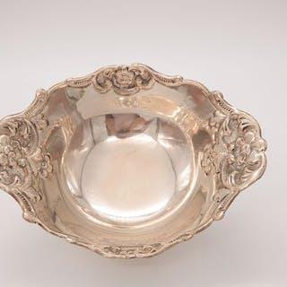 silver bowl - .925 silver - Israel - First half 20th century