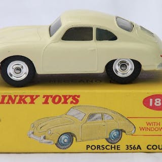Dinky Toys - 1:43 - Porsche 356A coupé nr 182 - Made in England