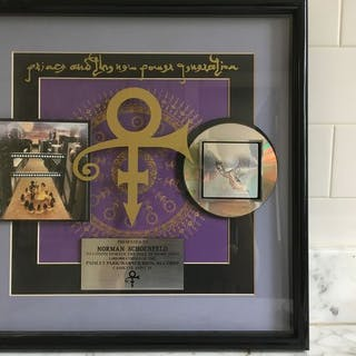 Prince - Prince and the New Power Generation - R.I.A.A. Auszeichnung - 1992/1989