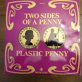 Plastic Penny - Two sides of a Penny - LP Album - 1968