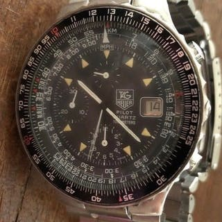 TAG Heuer - Pilot Chronograph - 230.206 - Herren - 1990