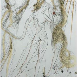 Salvador Dali- Le Printemps - La nouvelle Mythologie