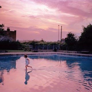 Conor Masterson (1971-) - Ruskin Park Lido Girl, Camberwell, London, 2004