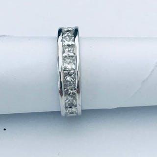 18 kt. Gold - Ring - 1.51 ct Diamond - Diamonds