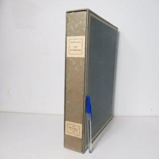 Victor Hugo  - Les Burgraves. Eaux-fortes de Charles Bisson - 1930