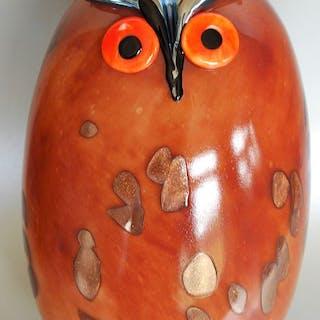 Oiva Toikka - Vögel von Toikka Uhuu 160 x 260 mm - Glas