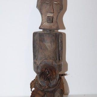 Zahl - Holz - Kifwebe- Songye - Kongo