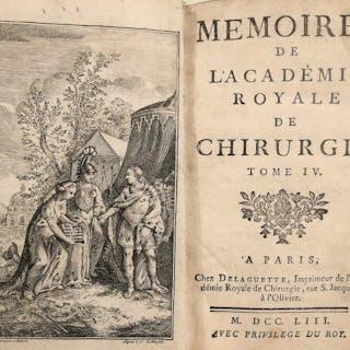 La Peyronie - Mémoires de l'Académie Royale de Chirurgie - 1753
