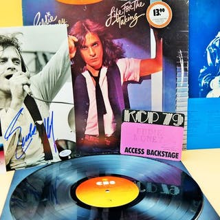 Eddie Money - signed 1979 /Backstage pass 1979/ and his...