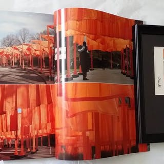 Christo and Jeanne Claude - The Gates + The Gatessigned...
