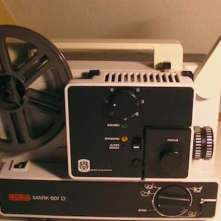 Eumig Mark 610 D voor Super / Single / Normal 8