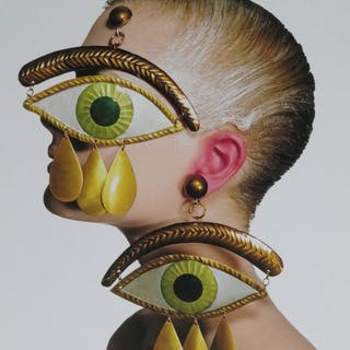Irving Penn (1917-2009) - Gaultier eve earrings, New York, 1998