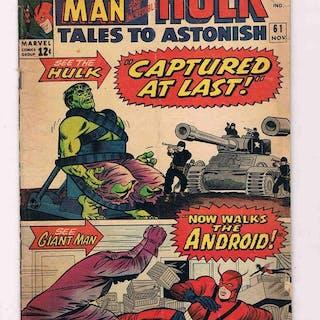giant man and hulk- Tales to astonish 61- Erstausgabe - (1964)