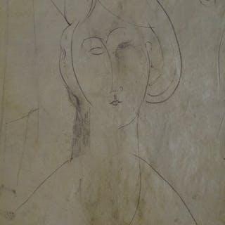Amedeo Modigliani - Composition