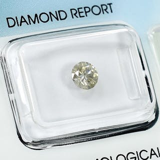 Diamond - 0.55 ct - Brilliant - Q-R